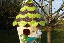 Bird Houses & Feeders / by Cheryl Thomas Gorka