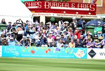 Sussex vs Gloucestershire | May 2015 / On Sunday 17th May Sussex Sharks took on Gloucestershire at the BrightonandHoveJobs.com County Ground, beating them by six runs. / by Sussex County Cricket Club