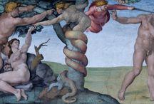 Michał Anioł galeria malarstwa