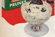 Vintage dessert advert