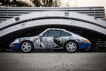 Porsche 993 '94 tattoo lifestyle / full wrapping