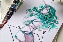 Human Watercolour