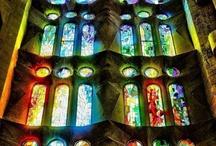 4 Churche Windows - Kerkramen