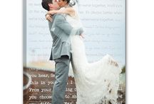 Wedding canvas artworks