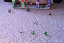 Benti játékok / Indoor activities