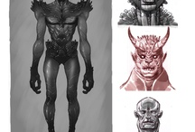 Character Designs / by Sebastian Tanobas