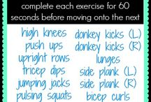 Boot Camps / boot camp style workouts with minimal equipment