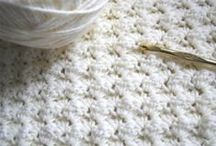 crochet / and knit