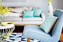 Novembro Azul, Casa Azul / Diversas maneiras de como incluir o azul na decoração de casa.