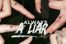 hazug csajok társasága