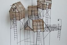 process - wire constructions and geometric abstraction