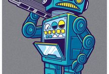 Robot Tattoo IDEAS