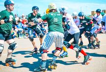 Eastbourne Extreme 2014 / Eastbourne Extreme 2014 Roller Derby Men's Game featuring members of the Bomb S'Quad Roller Derby League