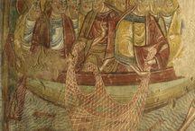 Au fil des églises à fresques et peintures murales / Plus de 20 églises composent, sur 80 km, en Vallée du Loir et Perche, un panorama exceptionnel de la peinture murale du XIe au XXe s : Areines, Bonneveau, Boursay, Choue, Couture-s/-Loir, Huisseau-en-Beauce, Lavardin, Longpré, Lunay, Mazangé, Meslay, Montoire-sur-le-Loir, Naveil, Sargé-sur-Braye, Souday, St-Firmin-des-Prés, St- Jacques-des-Guérets, Thoré-La-Rochette, Tréhet, Vendôme, Villavard et Villiers-s/-Loir. En Vendômois, découvrez 1 000 ans de fresques…
