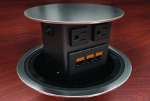 Data Accessories / The Concept comes with decorative lids which allow for both a square or round design and are available in a variety of finishes.