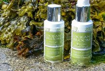 Seaweed Cosmetics / Ocean Bloom Hand Harvested Seaweed cosmetics