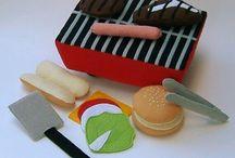 felt foods - bbq set