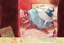 Kim Min Ji illustrations