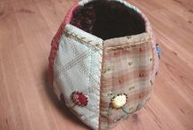 simple patchwork bag
