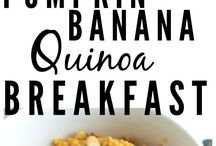 Quick and easy breakfasts / Breakfasts I can make quickly or prep ahead to enjoy for the week
