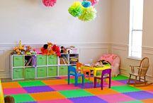 Kiddie play area ideas