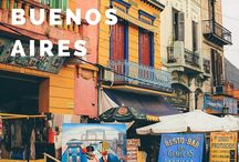 Argentina Travel Inspiraton / Inspiration for your Argentina trip