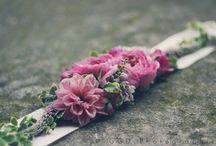 Ceinture de fleurs