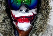 kar ve kayak maskesi