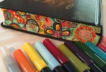 Bible decoration / Ideas for decorating plain edges