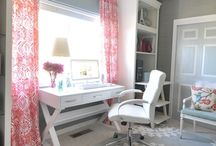 Home - Office Ideas / by Kara Abrahamsen Lillian Hope Designs