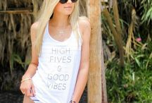 Salt + Pepper Instagram This tank has all the right vibes. Happy Saturday ✌ #saltandpeppersupply #highfives #goodvibes #california #lagunabeach #graphictees #tanktop