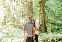 Woodsy Engagement Inspiration