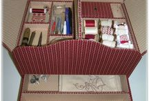 Картонаж. Шкатулки / Cartonnage. Casket / Изделия ручной работы из картона и ткани