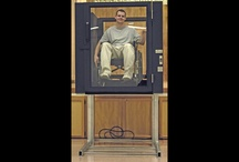 """Ascension Protégé Wheelchair Lift / The Protégé wheelchair lift is available as a portable or permanently-installed model, with a low profile of 49"""", open under-platform aesthetic, 360-degree protection, double-sided stability, 42"""" rise, plentiful window area, quiet electro-hydraulic drive train, and an unmatched 20-year drive train warranty."""