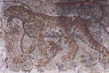 Mosaics depicting animals