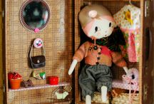 doll trunks, houses  inspiration / by Bridget Desjarlais
