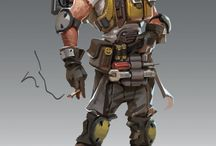 RPG  & Comic Characters