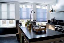 Rum: køkken / Få inspiration til gardiner i dit køkken