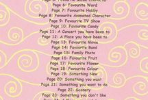 Scrapbook themes