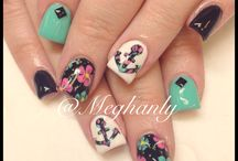Nail designs / by Trish Aline
