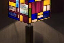 Тиффани светильник