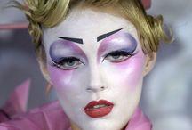 Креатив макияж