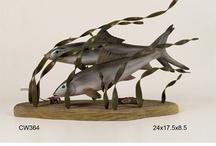 Gamefish Sculpture  / Gamefish Wall Art. Game Fish Sculpture. Ocean Decor. Fish Decor. / by Rita Milone