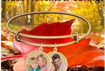 Expandable Photo Bracelets / by PicturesOnGold.com
