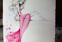 inspiracie,kresby,malby