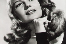 favorite Actresses in the 40's