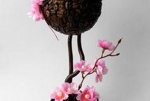 Coffee topiary