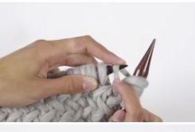 Knitting Stitches / Stitches for knitting, learn a new knitting stitch, knitting stitch tutorials