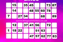 Multi-Coloured Bingo Cards / Bingo cards are used in many bingo facilities as part of the game, have a look at these designs.