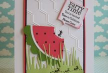 summer cards, etc. / Summer cards / by Sylvia Ruthven
